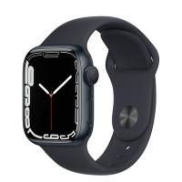 Apple Watch Series 7 GPS 45mm Midnight Aluminium Case with Sport Band Midnight