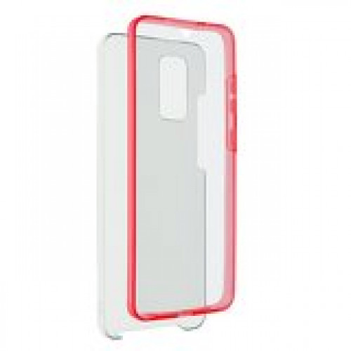 360 Full Cover case PC + TPU - Samsung Galaxy S21+ Red