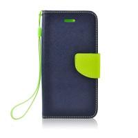 Калъф Fancy Book Case - Huawei P40 Lite E тъмно син