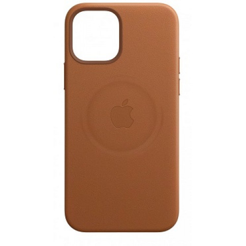 Leather Case with MagSafe  за Apple iPhone 12 mini Brown