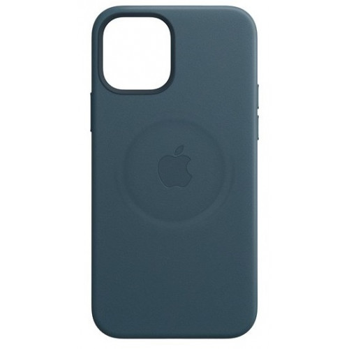 Leather Case with MagSafe  за Apple iPhone 12 mini Blue