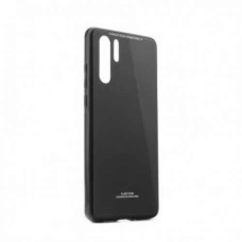 Гръб GLASS Case - Samsung Galaxy A41 черен