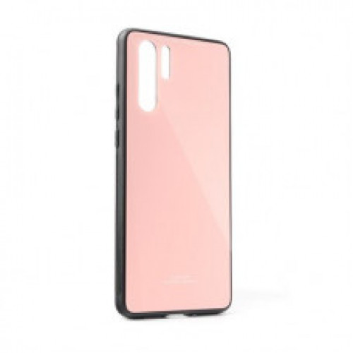 Гръб GLASS Case - Samsung Galaxy A41 розов