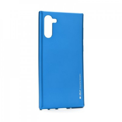 Гръб i-Jelly Case - Samsung Galaxy Note 10 син