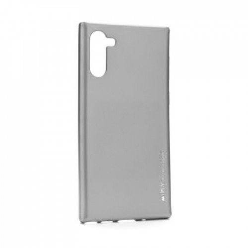 Гръб i-Jelly Case - Samsung Galaxy Note 10 сив