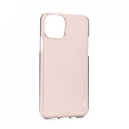 Гръб i-Jelly Case - Apple iPhone 11 Pro Max розово злато