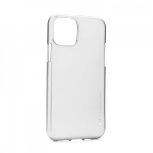 Гръб i-Jelly Case - Apple iPhone 11 сребрист