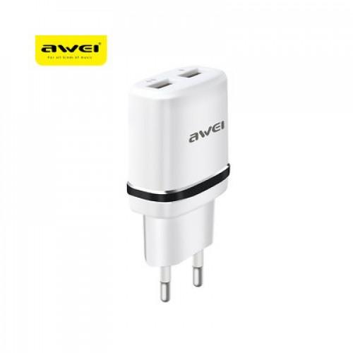 Адаптер AWEI 2xUSB - Huawei P40 Pro+ 5G