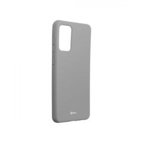 Гръб Roar Colorful Jelly - Samsung Galaxy A72 Grey
