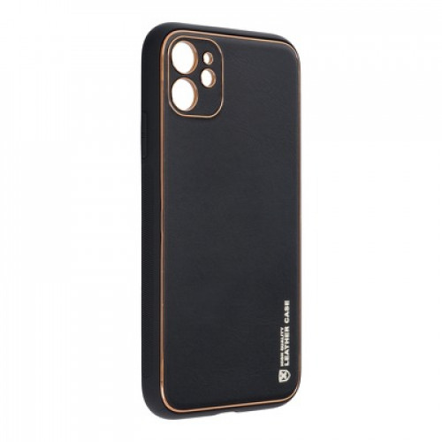 Forcell LEATHER - Black - Apple iPhone 11 Pro