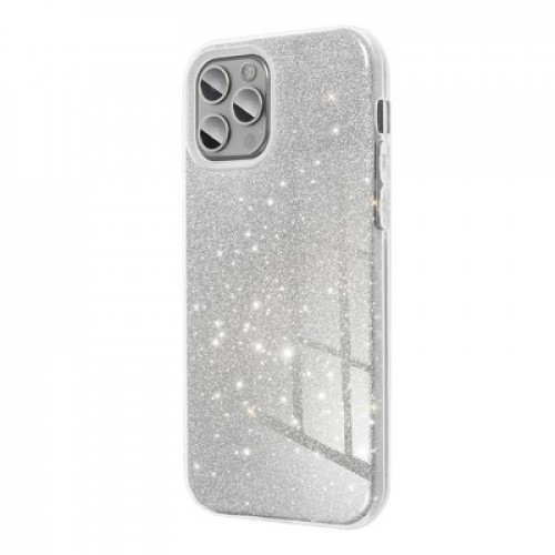 Гръб Forcell SHINING - Samsung Galaxy S21+ Silver