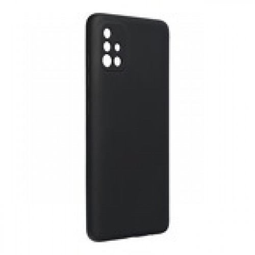 Гръб Forcell Silicone Lite - Samsung Galaxy A72 Black