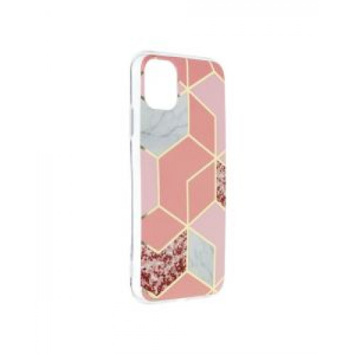 Гръб Forcell MARBLE COSMO - Apple iPhone 11 Pink