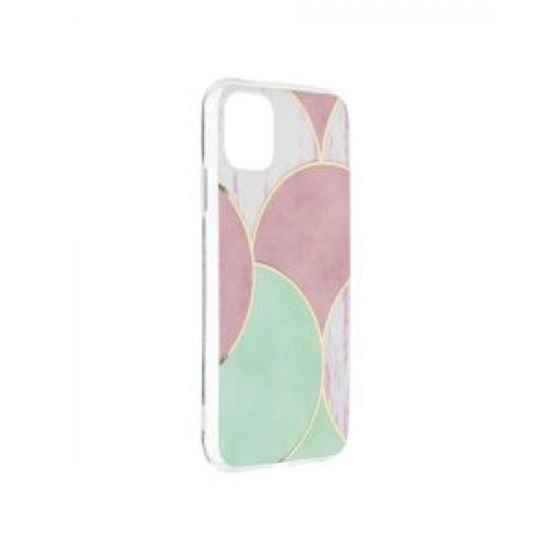 Гръб Forcell MARBLE COSMO - Apple iPhone 11 Rose