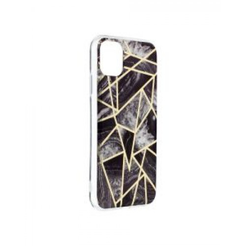 Гръб Forcell MARBLE COSMO - Apple iPhone 11 Black