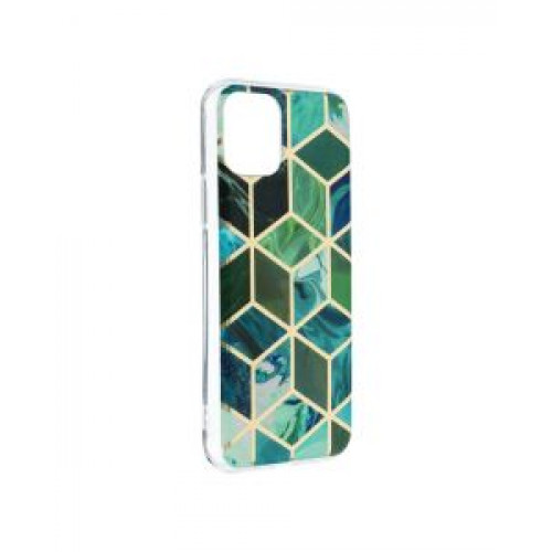 Гръб Forcell MARBLE COSMO - Apple iPhone 11 Pro Green