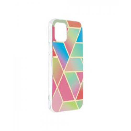 Гръб Forcell MARBLE COSMO - Apple iPhone 12 Colorfull