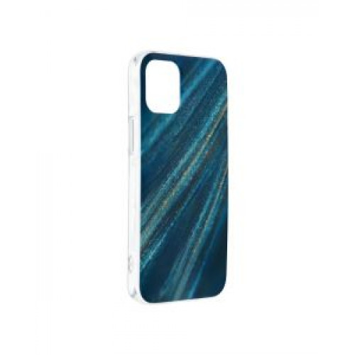 Гръб Forcell MARBLE COSMO - Apple iPhone 12 mini Blue