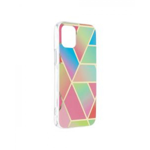 Гръб Forcell MARBLE COSMO - Apple iPhone 12 mini Colorfull