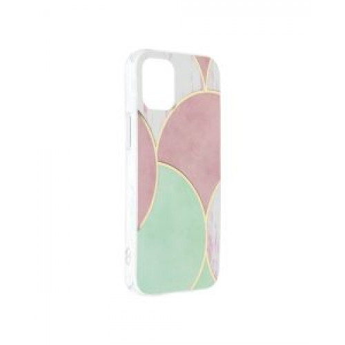 Гръб Forcell MARBLE COSMO - Apple iPhone 12 mini Rose