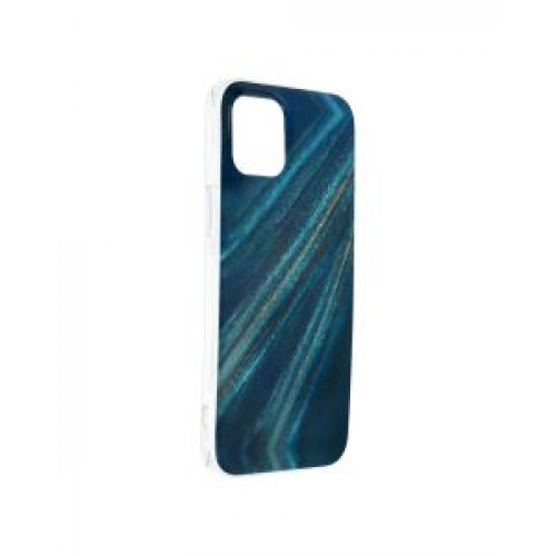 Гръб Forcell MARBLE COSMO - Apple iPhone 12 Pro Max Blue