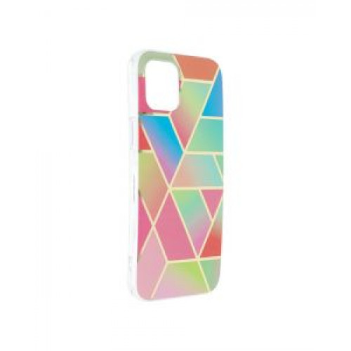 Гръб Forcell MARBLE COSMO - Apple iPhone 12 Pro Max Colorfull