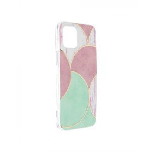 Гръб Forcell MARBLE COSMO - Apple iPhone 12 Pro Max Rose