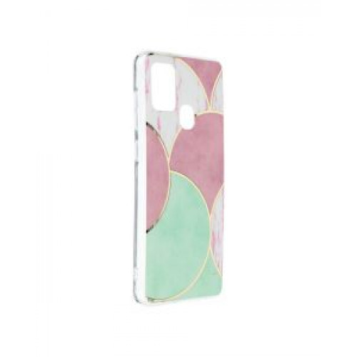 Гръб Forcell MARBLE COSMO - Samsung Galaxy A21S Rose