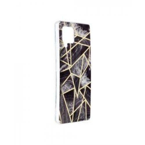 Гръб Forcell MARBLE COSMO - Samsung Galaxy A42 Black