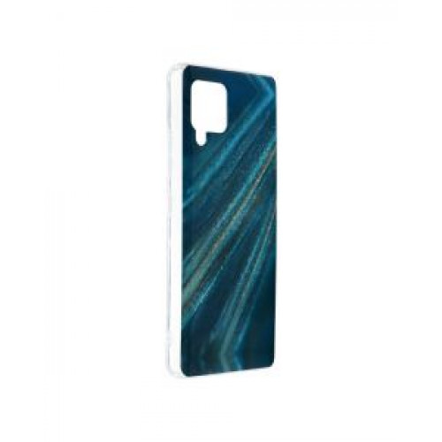 Гръб Forcell MARBLE COSMO - Samsung Galaxy A42 Blue
