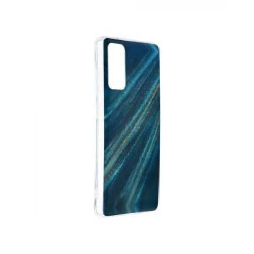 Гръб Forcell MARBLE COSMO - Samsung Galaxy S20 FE Blue