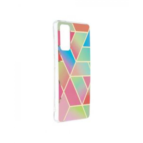 Гръб Forcell MARBLE COSMO - Samsung Galaxy S20 FE Colorfull