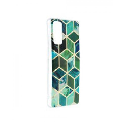 Гръб Forcell MARBLE COSMO - Samsung Galaxy S20 FE Green