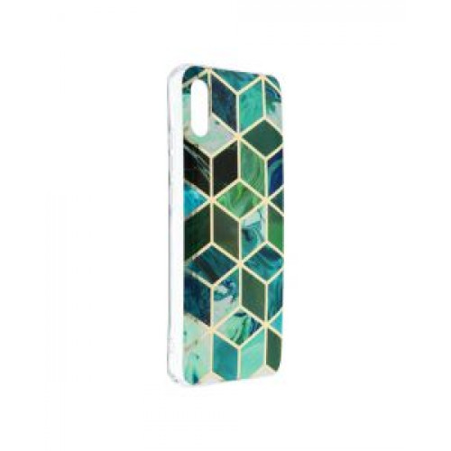 Гръб Forcell MARBLE COSMO - Xiaomi Redmi 9A Green