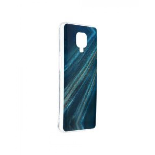 Гръб Forcell MARBLE COSMO - Xiaomi Redmi Note 9S Blue