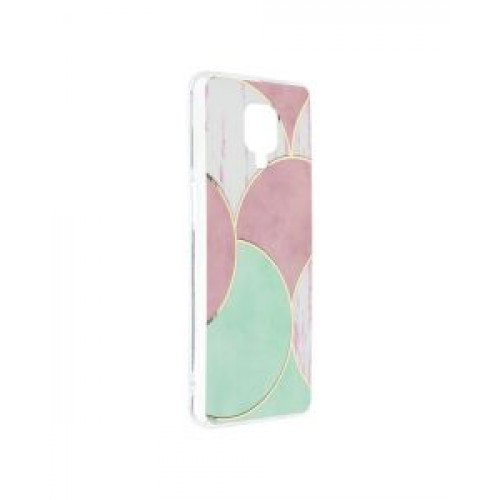Гръб Forcell MARBLE COSMO - Xiaomi Redmi Note 9S Rose