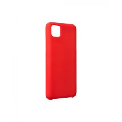 Гръб Forcell Silicone - Huawei Y5P Red