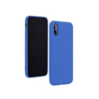 Гръб Forcell Silicone Lite - Huawei P40 Lite E Blue