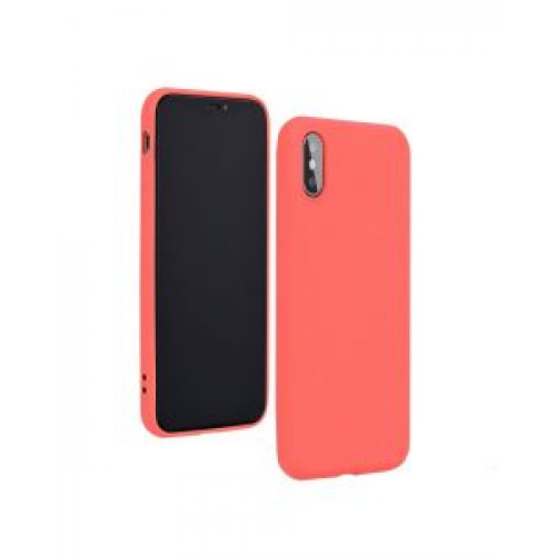 Гръб Forcell Silicone Lite - Apple iPhone 12 Pink