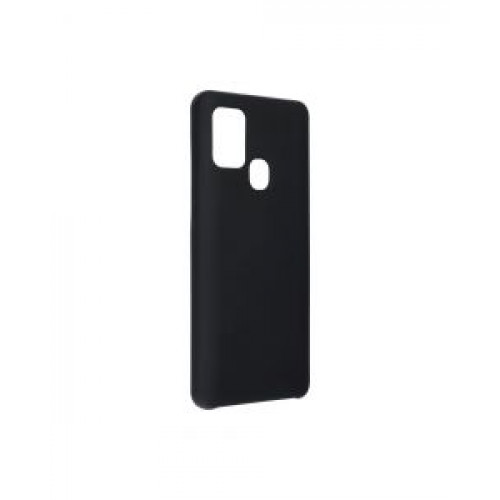 Гръб Forcell Silicone - Samsung Galaxy A21S Black