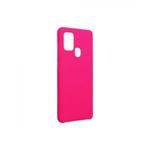 Гръб Forcell Silicone - Samsung Galaxy A21S Pink