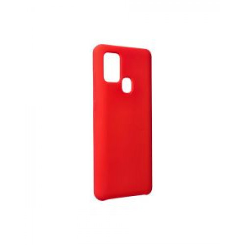 Гръб Forcell Silicone - Samsung Galaxy A21S Red