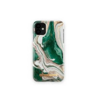 Гръб iDeal of Sweden - Apple iPhone 11 Golden Jade Marble