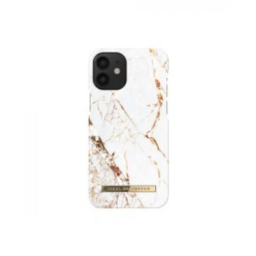 Гръб iDeal of Sweden - Apple iPhone 12 Carrara Gold