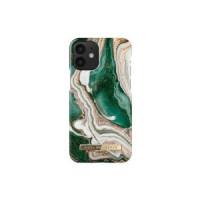 Гръб iDeal of Sweden - Apple iPhone 12 mini Golden Jade Marble