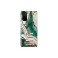 Гръб iDeal of Sweden - Samsung Galaxy S20 Golden Jade Marble