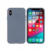Гръб Mercury Silicone - Apple Iphone SE 2020 Lavender Gray