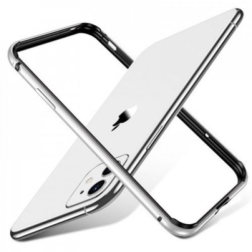 Гръб ESR Edge Guard - Apple iPhone 11 - сребърен