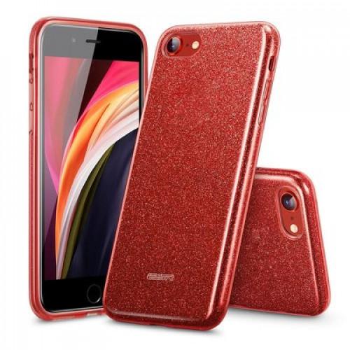 Гръб ESR Makeup - Apple iPhone SE 2020 - червен