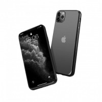 Гръб Forcell NEW ELECTRO MATT - Apple iPhone 12 Black
